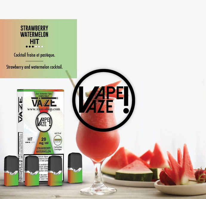Vaze Strawberry Watermelon - Cartouches x4
