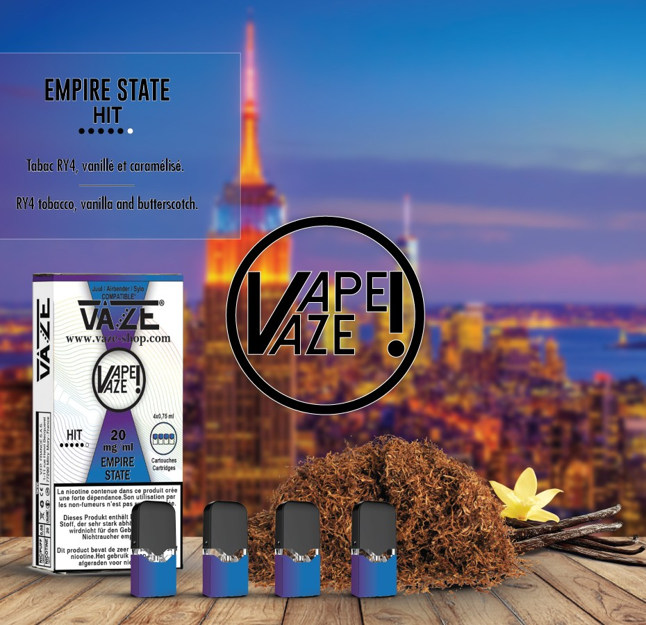 Vaze Empire State (RY4) - Cartouches x4