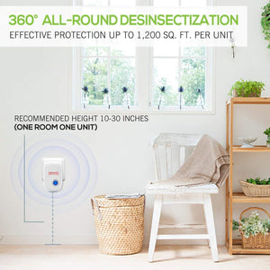 2020 Upgrated Pest Control Ultrasonic Repellent(45%OFF TODAY)