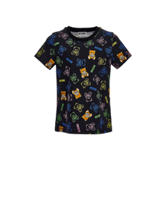 TEDDY ALL OVER PRINT T-SHIRT