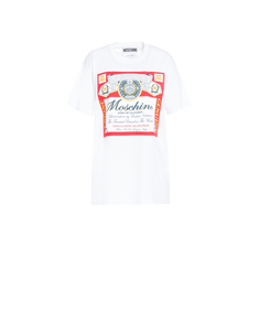 BUDWEISER OVER-FIT T-SHIRT WHITE