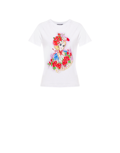 ANTONIETTE PRINT REGULAR FIT TEE