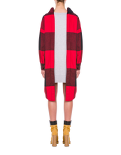 Load image into Gallery viewer, CHECK FLANNEL AND FLEECE DRESS