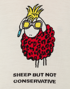 SHEEP BUT NOT CONSERVATIVE WOOL SWEATER