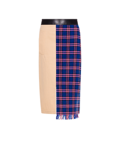 MIDI SKIRT PATCHWORK