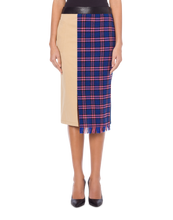 Load image into Gallery viewer, MIDI SKIRT PATCHWORK