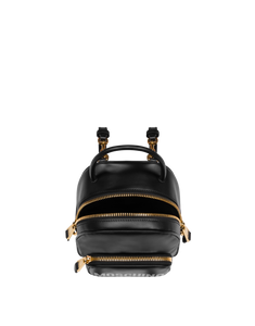 CALFSKIN BACKPACK WITH LOGO