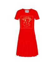 Load image into Gallery viewer, CNY OX BOX PLEAT TEE DRESS