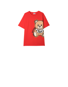 TEDDY MAXI T-SHIRT RED