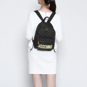 LOGO QULITED BACKPACK MEDIUM