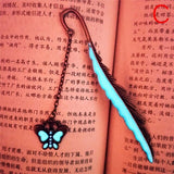 1Pc Butterfly Dragonfly Bookmark Luminous Bookmark