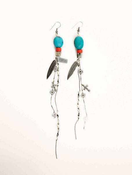 Turquoise Earrings | Turquoise Gemstone Earrings | Turquoise Jewelry