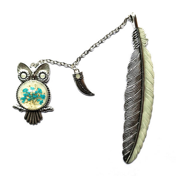 Cute Owl Bookmark Luminous Glow In The Dark Label