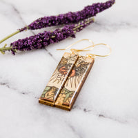 Italian Tarot Card Earrings- Judgement
