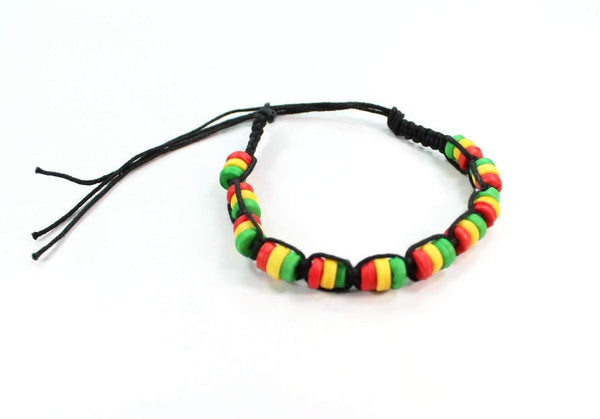 Rasta Friendship Bracelet