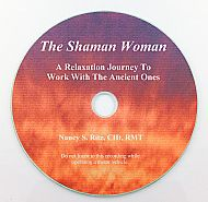 """The Shaman Woman"" CD by Nancy S. Ritz"