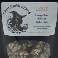 Love Ritual & Incense Herbs