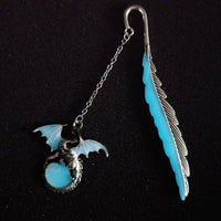 Luminous Flying Dragon Shape Bookmarks Glow In The