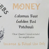 Money Ritual & Incense Herbs
