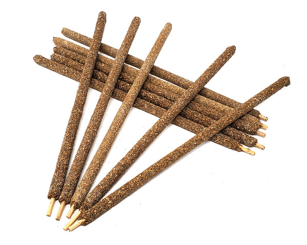 Pack of 3 Sticks Peruvian COPAL Incense Sticks 8""
