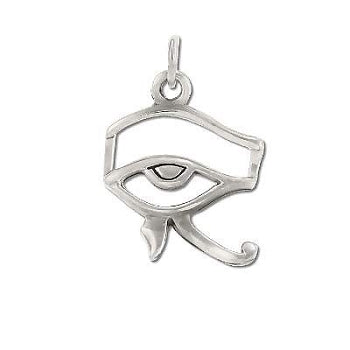Sterling Silver Egyptian Eye Of Horus Pendant