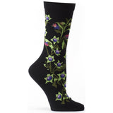 Witches Garden Belladonna Sock
