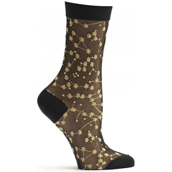 Sheer Zodiac Sock