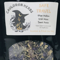 Safe Travel Ritual & Incense Herbs