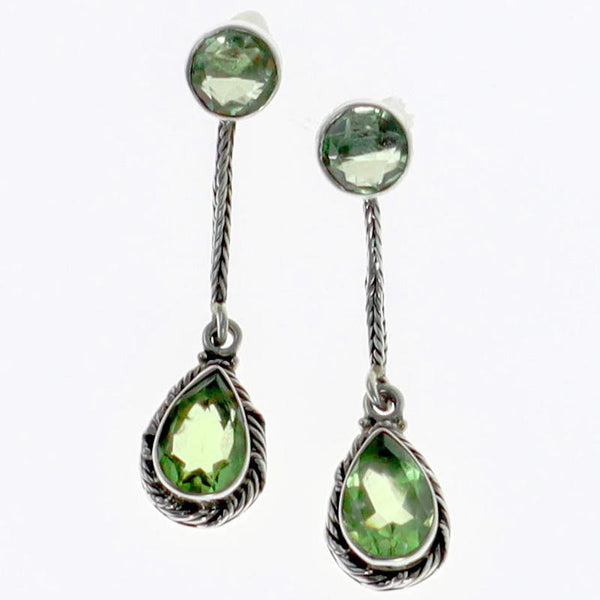 Prasiolite Splendor Earrings