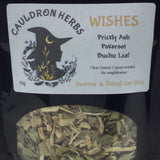 Wishes Ritual & Incense Herbs