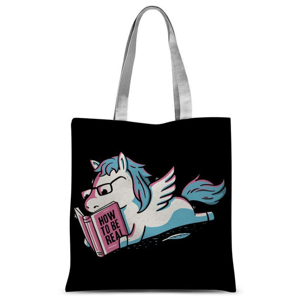 Be Realistic Sublimation Tote Bag
