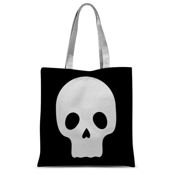 Cool Skull Sublimation Tote Bag