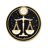 Libra Astrological Sign Pin - Star Sign / Astrology Enamel Pins