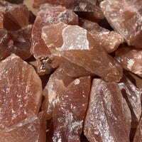 Red Calcite Raw