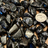Indigo Gabbro Tumbled Small