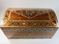 Elegant Syrian Mosaic Jewelry Big Box (2 layers with a key)