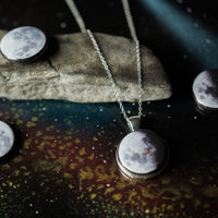 Interchangeable Moon Phase Necklace