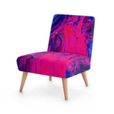 Abstract Paint Splash Accent Occasional Chair