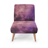 Purple Luxury Accent Occasional Chair