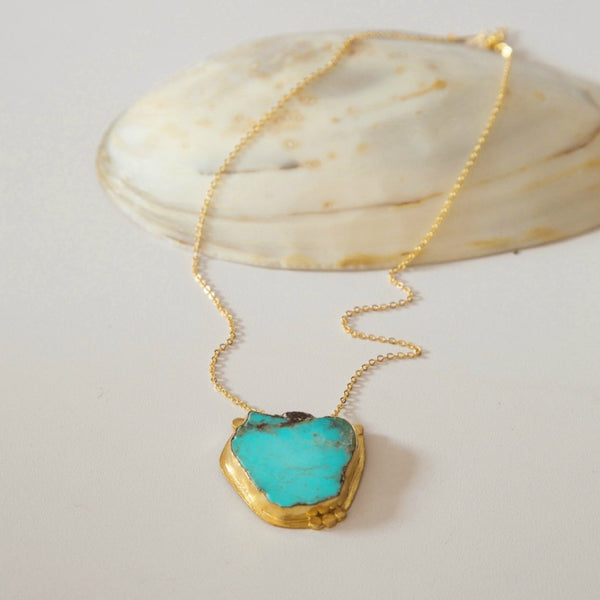 Beautiful Turquoise Necklace - Very Unique