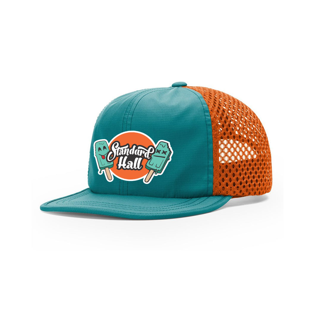 Standard Hall - Popsicle - Mesh Teal Hat