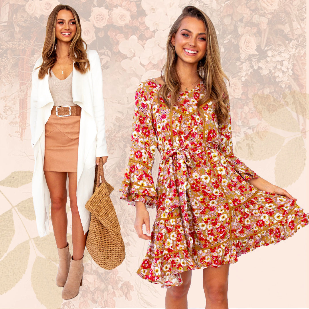 Online Womens Fashion Dresses Tops And More Gingham And Heels