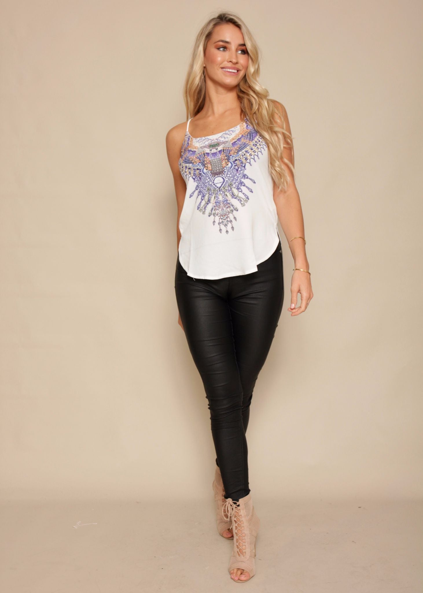 Sunset Glow Cami - Indigo Jewels