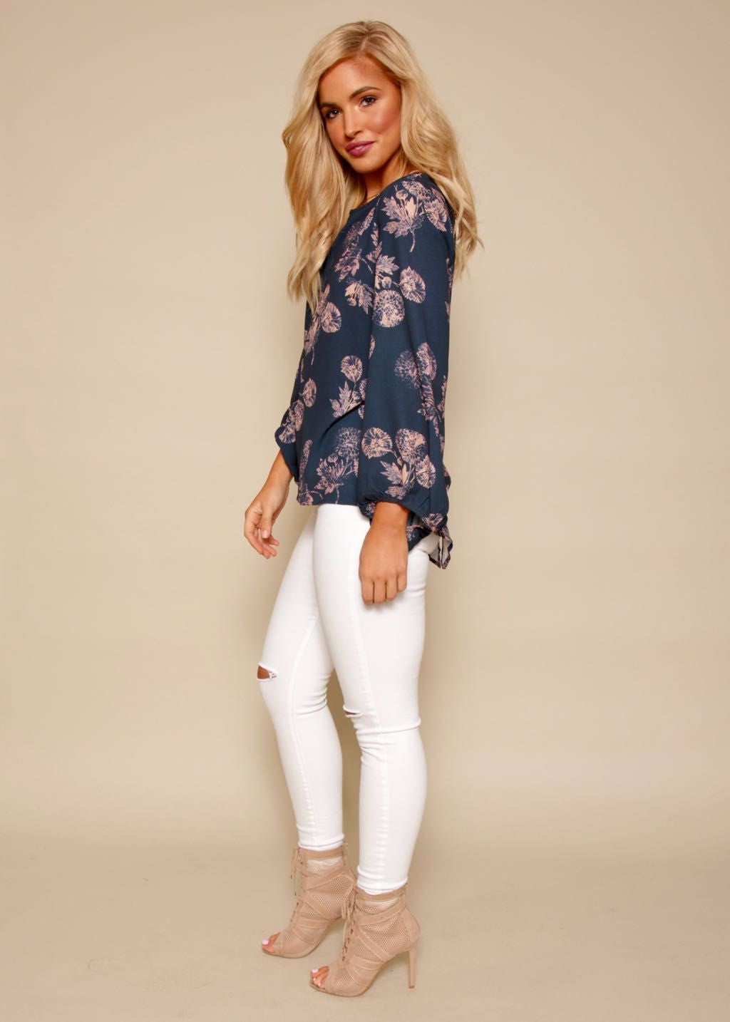 Golden Lights Blouse - Dandelion