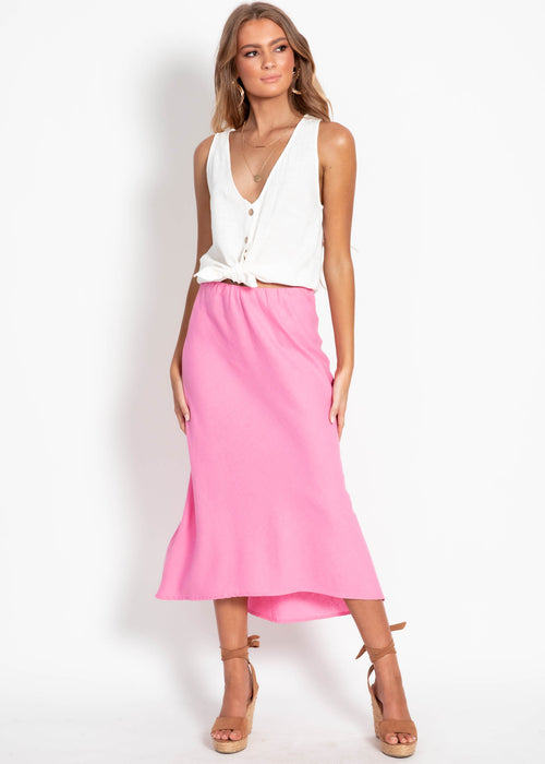 Peppin Midi Skirt - Pink