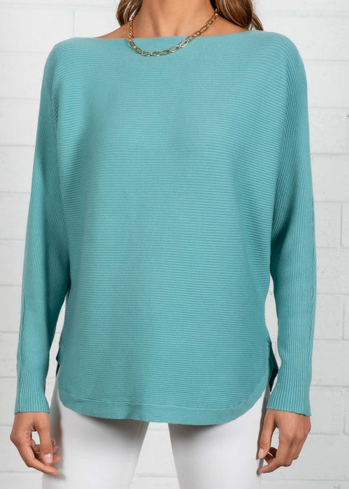 Try Me Sweater - Teal