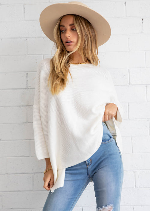 Allira Sweater - White