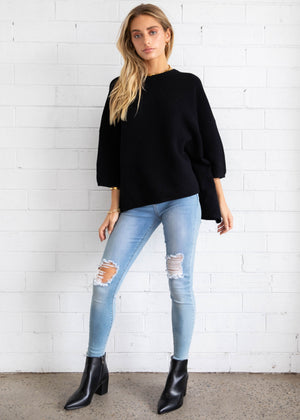 Allira Sweater - Black