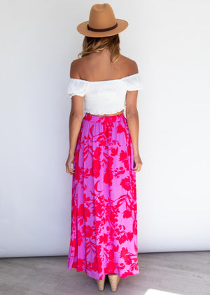 Cocoa Maxi Skirt - Eye Candy