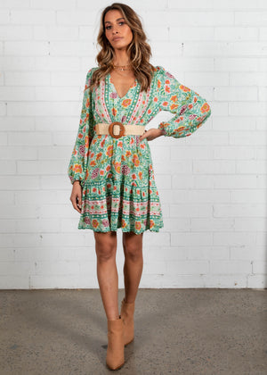 My Embrace Dress - Melon Mint